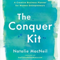 "The Conquer Kit: A Creative Business Planner for Women Entrepreneurs by Natalie MacNeil (Bargain Books) - Plus Free ""Read Feminist Books"" Pen"