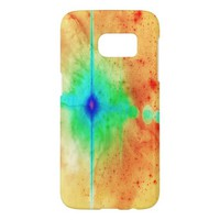 Abstract Star Explosion Galaxy S7 case