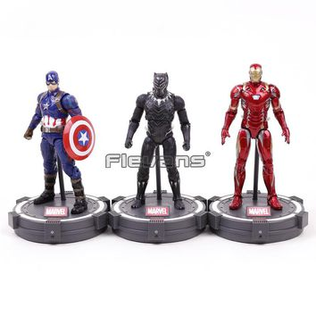 Marvel Legends Black Panther / Captain America / Iron Man Action Figure Collectible