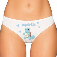 Squirtle Panties - Pokemon Panties - AltPanties