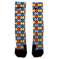 Custom Autism Awareness NIKE ELITE Socks