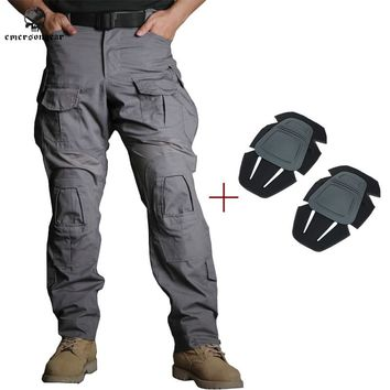 Emersongear G3 Combat Pants Jungle Military Army Airsoft Tactical Gear Military Camouflage Trousers Wolf Gray EM9351WG WG