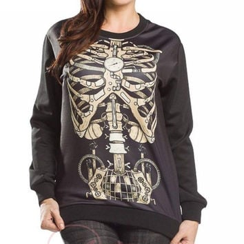 Fashion Winter Hoodies Ladies Print Sweater Gift [9143596228]