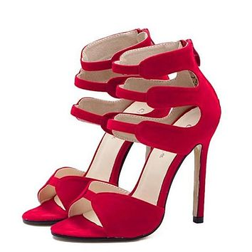 Strappy High Heel Stiletto
