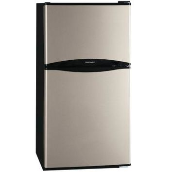 Frigidaire 4.5 cu. ft. Mini Refrigerator in Silver Mist, ENERGY STAR-FFPS4533QM - The Home Depot