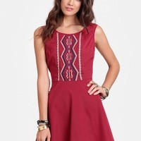 Way Out West Skater Dress