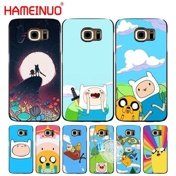 HAMEINUO Adventure Time with Jake and Finn bmo cell phone case cover for Samsung Galaxy S7 edge PLUS S8 S6 S5 S4 S3 MINI