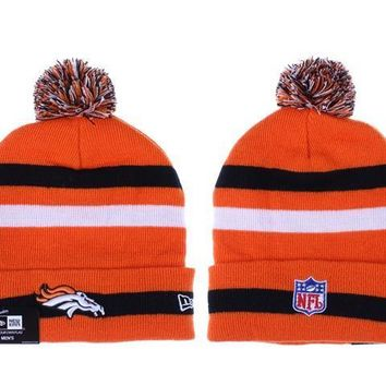 ESBON Denver Broncos Beanies New Era NFL Football Cap
