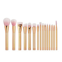 15PCS Maange Professional makeup brushes Cosmetics Wood pinceaux de maquillage Eyeshadow Foundation oval makeup brush Tool ILML