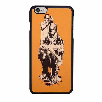star wars chewbacca iphone 6 6s 4 4s 5 5s 6 plus cases