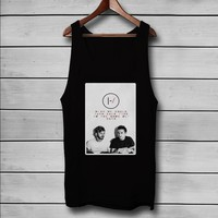 Twenty One Pilots Stressed Out Custom Tank Top T-Shirt Men and Woman