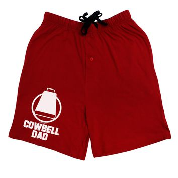 Cowbell Dad Adult Lounge Shorts  by TooLoud