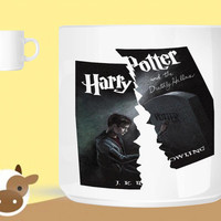 Harry Potter and the Deathly Hallows  unique coffee mug