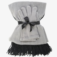 Ombre Scarf & Glove Set
