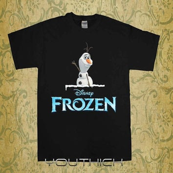 frozen tshirt, Personalizad Disney Frozen T shirt kids, Disney Frozen youth tshirt,  kids clothes, funny kids tshirt