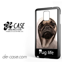 New Design Funny Hilarious Pug Life Parody Fans For Samsung Galaxy Note 4 Case Phone Case Gift Present
