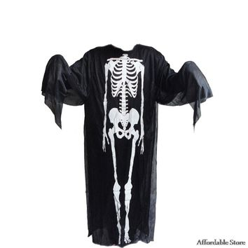 Halloween cosplay make-up dance zombie suit adult men and women clothes skull skeleton ghost clothing