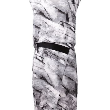 Helmut Lang print dress