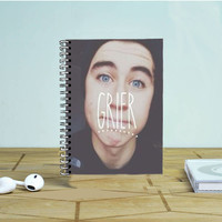 Nash Grier Mb Magcon Boys Photo Notebook Auroid