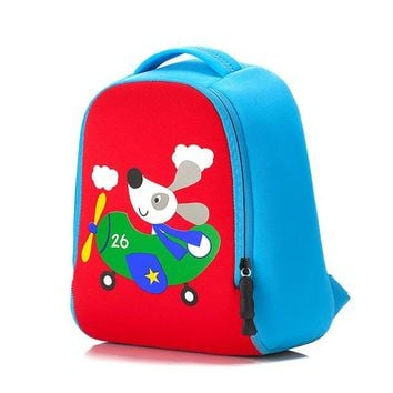 Boys Backpack Bag 2018 New Cute lion Animal Design Toddler Kid rabbit School Bag Kindergarten Cartoon dog  Preschool 1-3 years girls AT_61_4