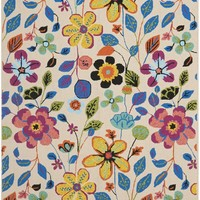 Four Seasons Country & Floral Kids Indoor/Outdoorarea Rug Ivory / Multi