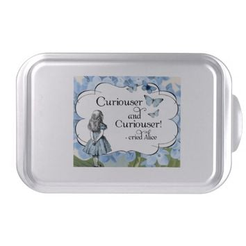 Alice in Wonderland Curiouser Hydrangea Cake Pan