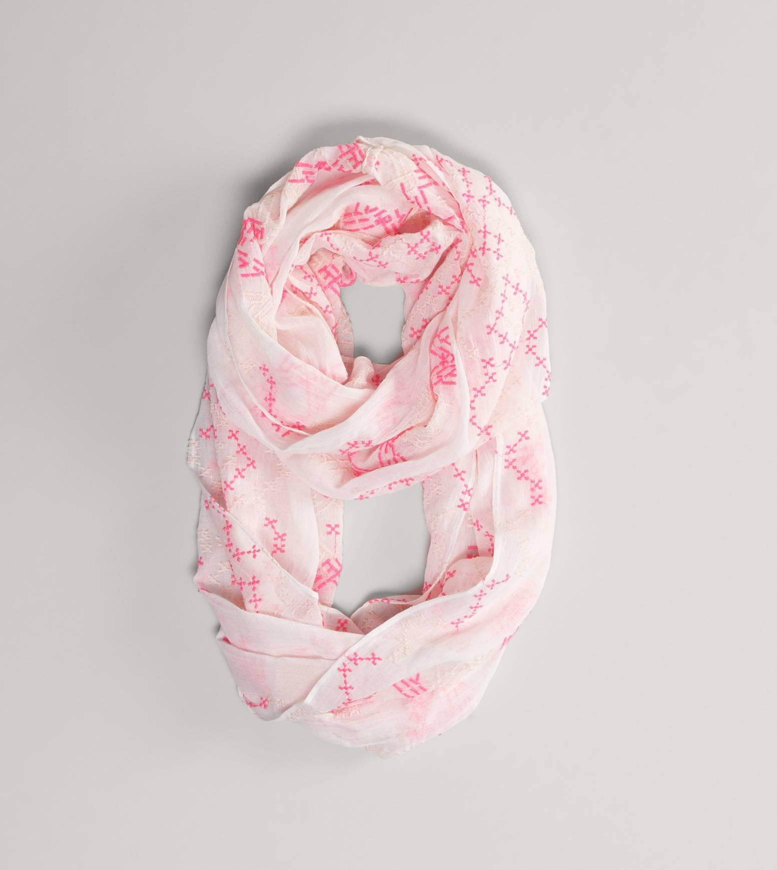 American Eagle Embroidered Loop Scarf 82 Pln Liked On