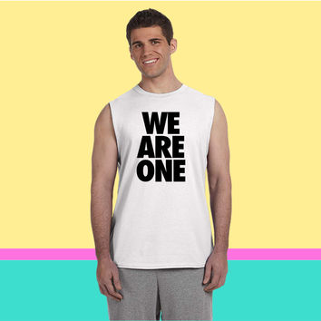 We Are One Sleeveless T-shirt