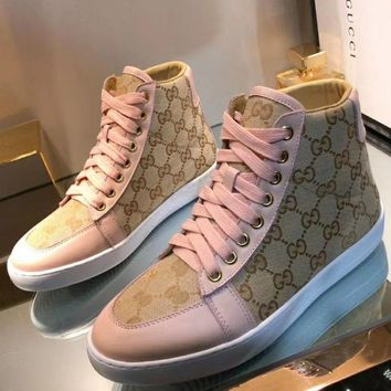 Gucci Woman Fashion Sports shoes