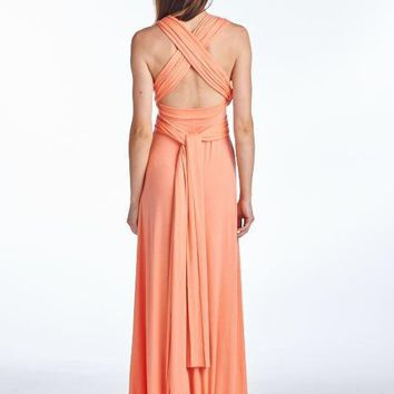Down Under Multi Way Wrap Maxi Dress