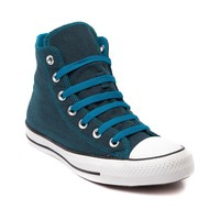 Converse All Star Hi Denim Sneaker, Turquoise Denim | Journeys Shoes