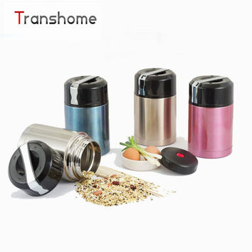 800ml 2 layer Vacuum Stainless Steel Lunchbox with Handle Thermos for Food Container