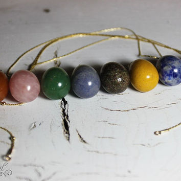 Necklace of Gold Filled Chain with Custom Stone
