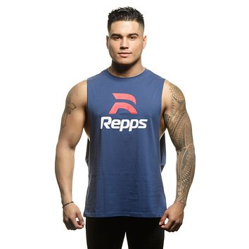 Repps Workout Cut Off Shirts for Men The Perfect Muscle Shirt