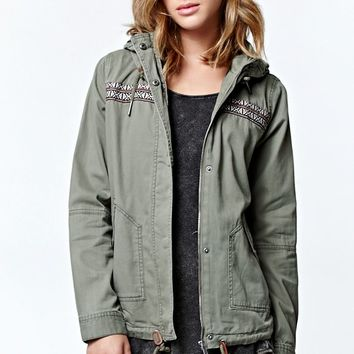 Roxy Winter Cloud Jacket - Womens Jacket - Green