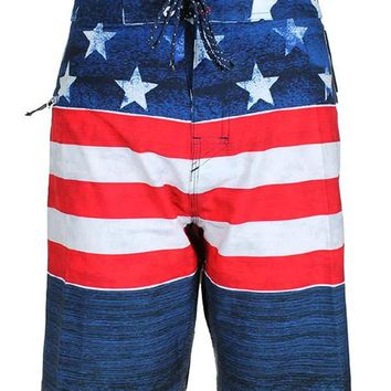 Glory II Stretch Boardshort Navy/Red