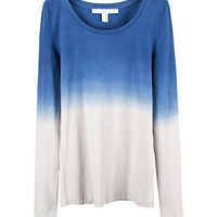 Long Length T-shirt with Tie Dye Print
