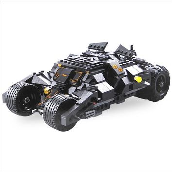 Batman Dark Knight gift Christmas Compatible legoing marveled superheroes Decool technic 7105 Tumbler Batman car legoing avengers bantmam Building Blocks  bricks AT_71_6