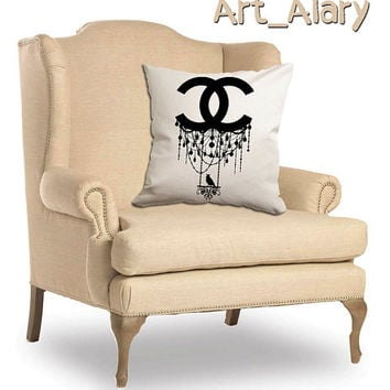 Chanel with bird For Pillow Cover and Pillow cases