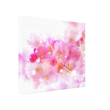 Japanese Cherry Tree with Pastel Pink Blossoms