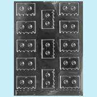 Small Cassette Tape Chocolate Mold