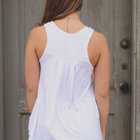 Chasing Sunsets Top - White
