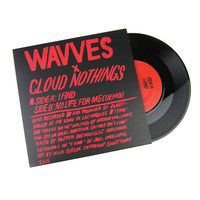 """Wavves / Cloud Nothings: I Find / No Life For Me Vinyl 7"""""""