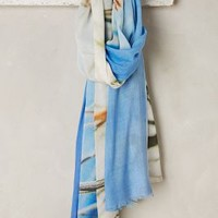 Tilo Beachy Scarf in Blue Size: One Size Scarves