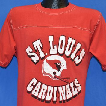 80s St. Louis Cardinals NFL Football Jersey t-shirt Medium