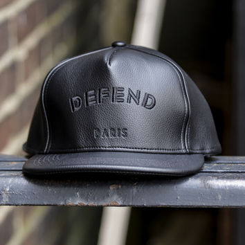 Defend Paris - Defend PU Hat - Black