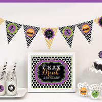 Spooky Halloween Decoration Kit