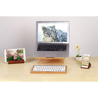Complete Set of Universal Wood Stand For Macbook Keyboard iPad & Phone SALE