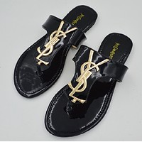 shosouvenir : YSL  Casual Fashion Women Sandal Slipper Shoes