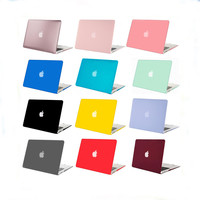 Mosiso Brand Plastic Hard Case for Macbook 12 Air 11 13 Pro 13 15 Retina 13 15 inch Soft Touch Laptop Sleeve Shell Cover